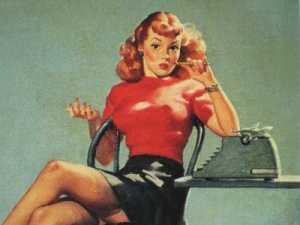 office pin up